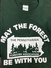 May the Forest Be With You - Forest Green, XXL